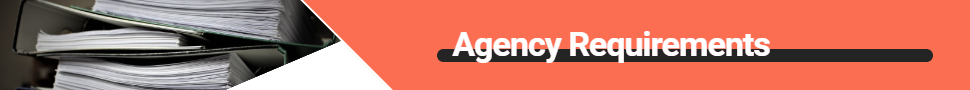 Agency Requirements banner