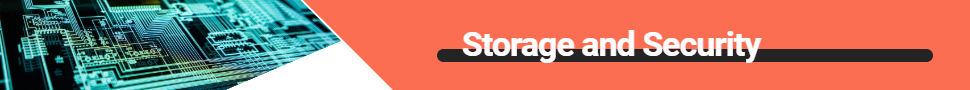 Storage and Security banner